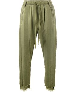 Haider Ackermann | Stripe Washed Cargo Pants Large Cotton/Spandex/Elastane