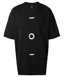 Odeur | Geometric Print Elongated T-Shirt