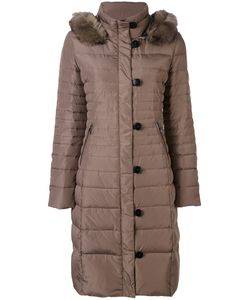 ARMANI JEANS | Fur Collar Padded Coat