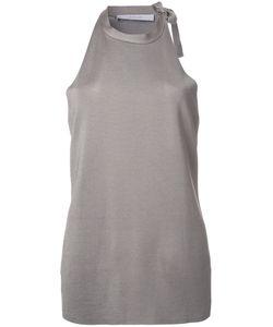 Dion Lee | Shoulder Tie Knitted Tank 6 Viscose