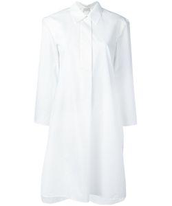 Veronique Leroy   Платье-Рубашка С Укороченными Рукавами
