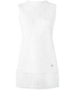 Versace Jeans | Ribbed Layer Tank Xs Cotton/Polyester