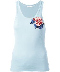 Sonia Rykiel | Sequinned Flower Detail Tank Small Cotton