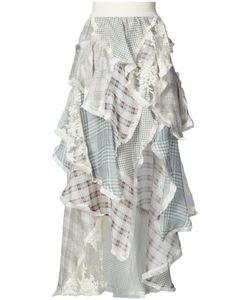 Zimmermann   Платье С Рюшами И Цветочным Узором