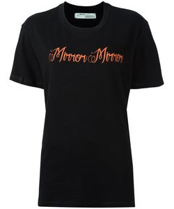 OFF-WHITE | Mirror Mirror Print T-Shirt Xs Cotton