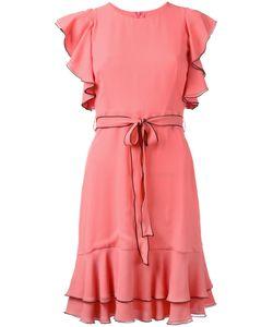 L' Autre Chose | Lautre Chose Pleated Trim Lace Up Dress 44