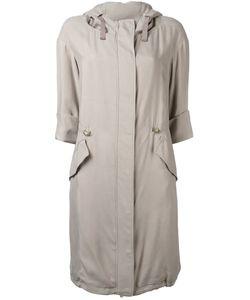 Herno | Hooded Zipped Coat Size 42