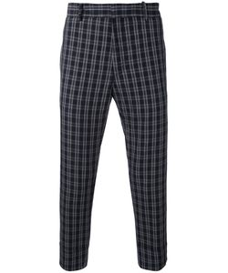 Paolo Pecora | Plaid Cropped Trousers