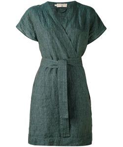 Cotélac | Платье С Запахом И Поясом