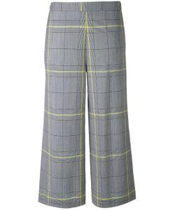 Fabiana Filippi | Checked Cropped Trousers