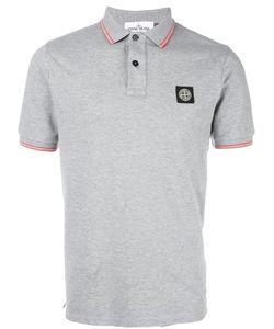 Stone Island | Logo Patch Polo Shirt Xl Cotton/Spandex/Elastane