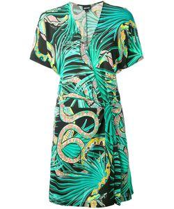 Just Cavalli   Snake Print Wrap Dress