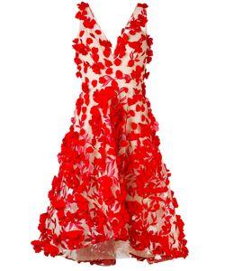 Marchesa Notte | Платье С Цветочной Аппликацией