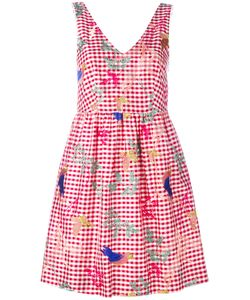 P.A.R.O.S.H. | P.A.R.O.S.H. Embroidered Gingham Dress One