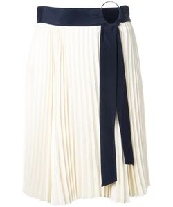 3.1 Phillip Lim | Belted Pleated Skirt 6 Polyester