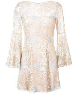 Jay Godfrey | Платье С Цветочной Вышивкой