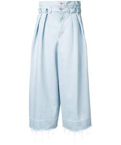 Rito   Double Waist Jeans 36 Cotton