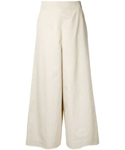 ASTRAET | Wide-Leg Cropped Trousers 1 Cotton