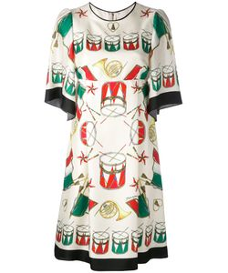 Dolce & Gabbana | Drum Print Dress