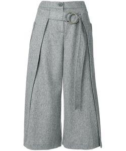 Eudon Choi | Belted Wide-Leg Trousers Women