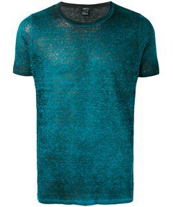 Avant Toi   Distressed T-Shirt Size Medium