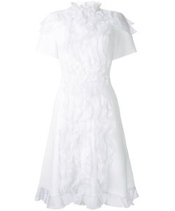 Macgraw   Suzette Dress 8 Polyester/Acetate/Silk Organza