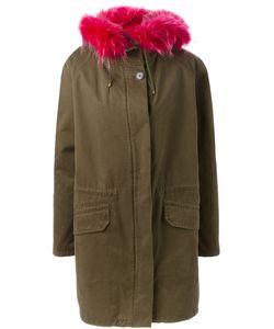 Yves Salomon | Rabbit Fur Lined Hooded Parka Size
