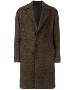 HEVO   Button-Down Tailored Coat Men 50