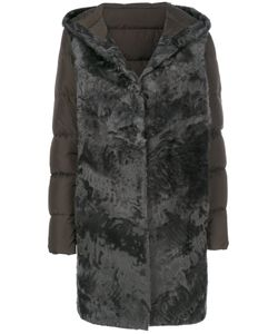 Liska | Padded Lambfur Coat Women