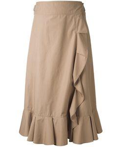 Muveil | Elasticated Detailing Ruffled Skirt