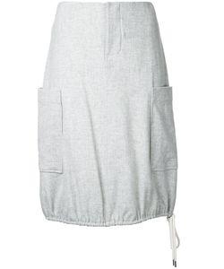 Bassike | Drawstring Skirt