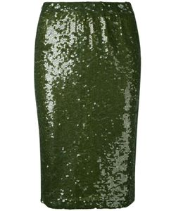 P.A.R.O.S.H. | P.A.R.O..H. Garies Paillette Skirt