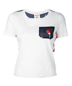 Semicouture   Flower Print T-Shirt Size Medium