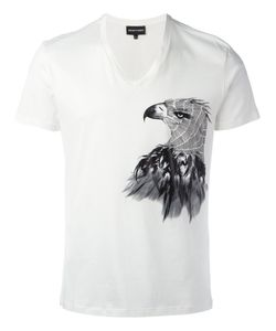 Emporio Armani   Eagle Print T-Shirt Large Cotton