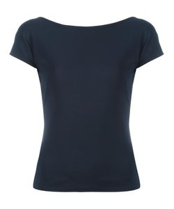 Akris Punto | Plain T-Shirt 36 Viscose/Polyamide/Spandex/Elastane