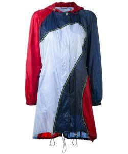 Versace | Colourblock Hooded Coat 42