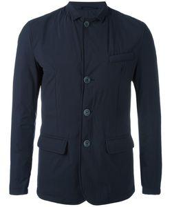 Herno | Buttoned Jacket 46 Polyamide/Spandex/Elastane