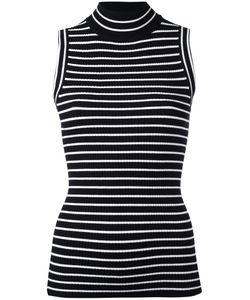 Michael Michael Kors | Horizontal Stripe Sleeveless Top Xl