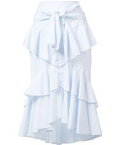 Rebecca Vallance | The Parker Frill Skirt 12 Cotton
