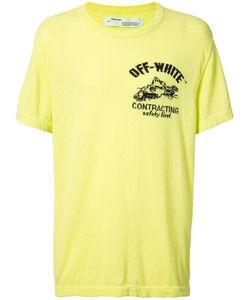 OFF-WHITE | Футболка Construction