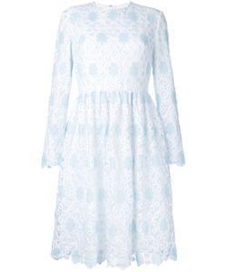 Huishan Zhang | Flared Lace Overlay Dress