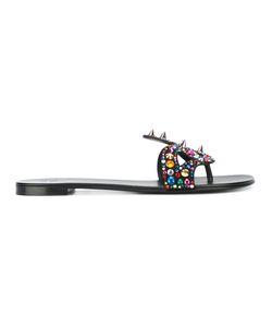 Giuseppe Zanotti Design | Embellished Sandals Size 36