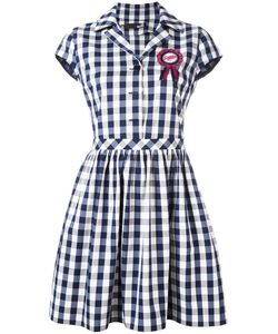 Love Moschino | Checked Dress 42 Cotton