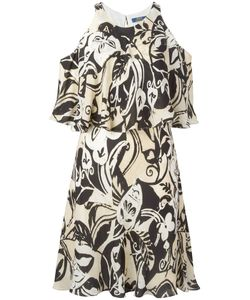 Polo Ralph Lauren | Cut-Out Detail Ruffled Dress Size 10
