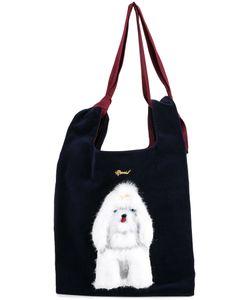 Muveil | Dog Embellished Shoulder Bag