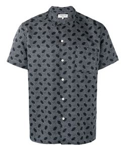 YMC | Printed Shirt Small Cotton/Silk