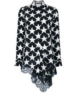 Givenchy | Рубашка С Кружевной Вставкой