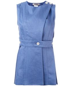SportMax | Buttoned Wrap Front Top Size 42
