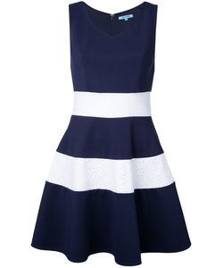 GUILD PRIME | Striped Fla Dress 34 Polyester/Polyurethane