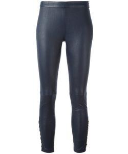 Pierre Balmain | Skinny Leather Pants 36 Lamb Skin